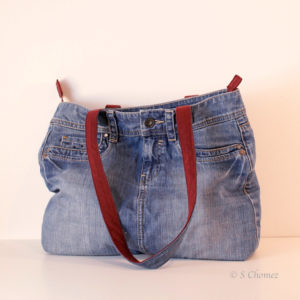 Sac cabas Upcycling Esprit brillant
