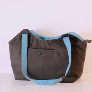 Sac cabas Upcycling Sabena