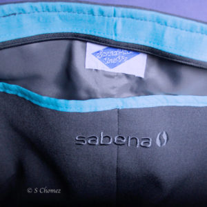 Sac cabas Upcycling Sabena - brodure