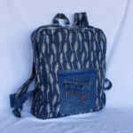 Cartable Upcycling Feuilles