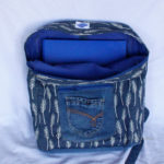 Cartable Upcycling Feuilles int