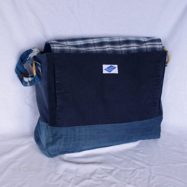 Messengerbag Global upcycling dos