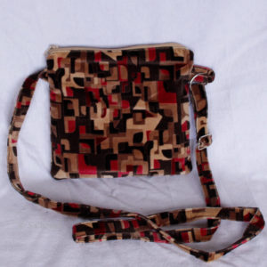 Sac à main upcycling Cubisme