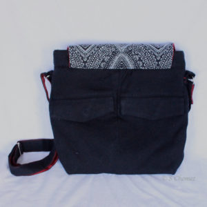Sac à main Ethni Upcycling dos