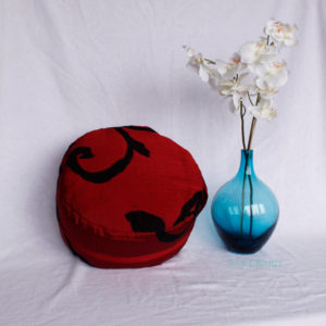 Zafu upcycling rouge zip rouge