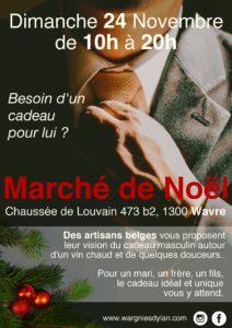 Marché de Noël Homme Wavre