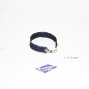 bracelet zip upcycling