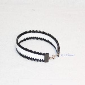 bracelet zip unisex