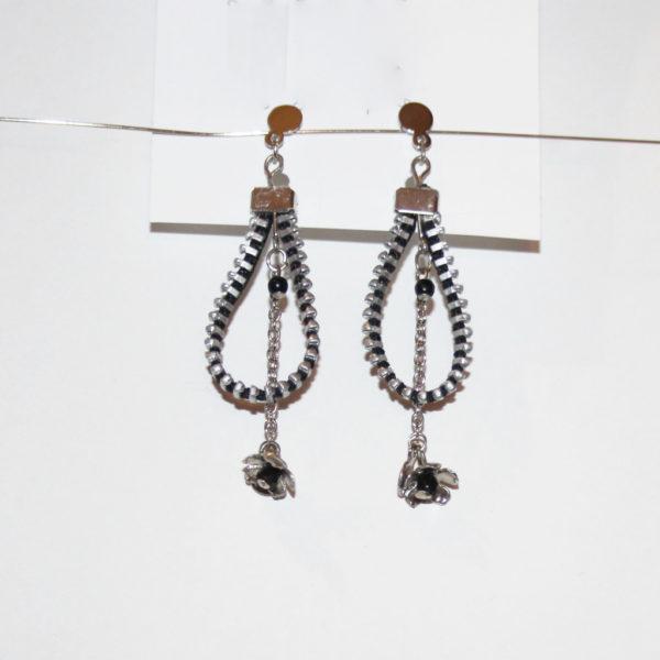 bo drop pendentif upcycling zip