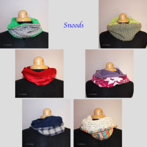 snoods upcycling