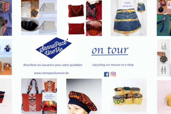 SannaPack'UneVie on tour